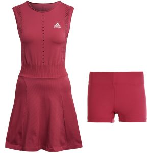 Robe Dame Adidas Perf - Rouge-Rosé