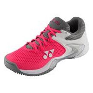 Chaussures Yonex Dame POWER CUSHION ECLIPSION 2 LEX - Terre Battue - Padel - Surfaces glissantes - Blanc/Rose