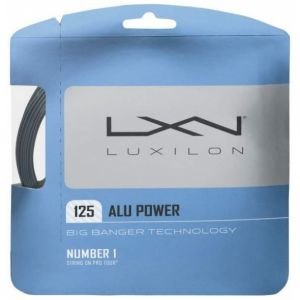 Luxilon Alu Power Big Banger 1.25 ou 1.38 Argent