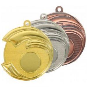 Médaille Tennis Métal Diamètre 7 cm