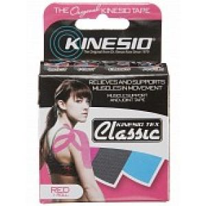 Bande Kinesio Classic en Rouleau Individuel (5 cm x 4 m) Rouge
