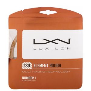 Cordage Luxilon Element Rough 1,30 mm - 12,2 m 1 raquette - Bronze