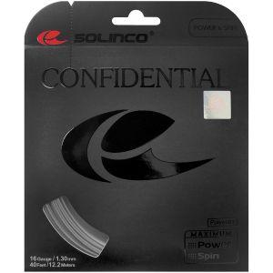 Cordage Solinco Confidential 12,2 m - Contrôle - Effets - Durabilité