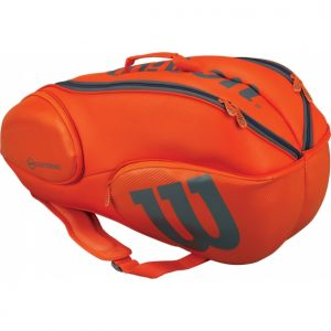 Sac Wilson Burn 9 raquettes Orange