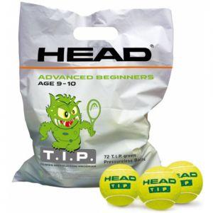 Sachet de 72 Balles Head T.I.P. Green