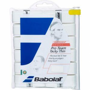 Surgrips Babolat Pro Tacky Blanc x12 - Très bonne Tenue dans la main et Absorption