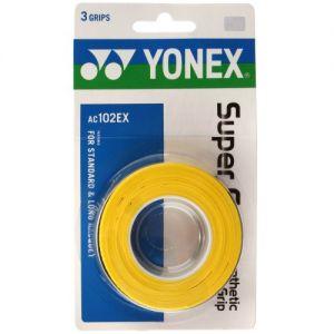Surgrip Yonex Pack de 3 Jaune