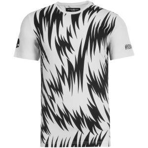 T-Shirt Technique Homme Hydrogen Scratch - Blanc