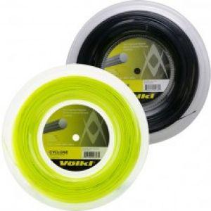 Bobine 200m - Cordage Völkl Cyclone 1.25 ou 1.30 - Jaune Lime/Orange/Noir