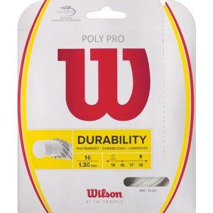 Cordage Wilson 12 m Poly Pro Durabilité 1.30 ou 1.35