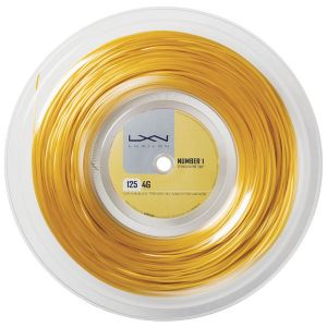 Bobine Luxilon 4G - Gold 1,25 ou 1.30 mm - 200m