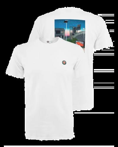 T-Shirt Homme Roland-Garros - Affiche Officielle 2021
