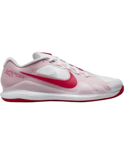 Chaussures Homme Nike Air Zoom Vapor Pro Blanc/Rouge - Terre Battue