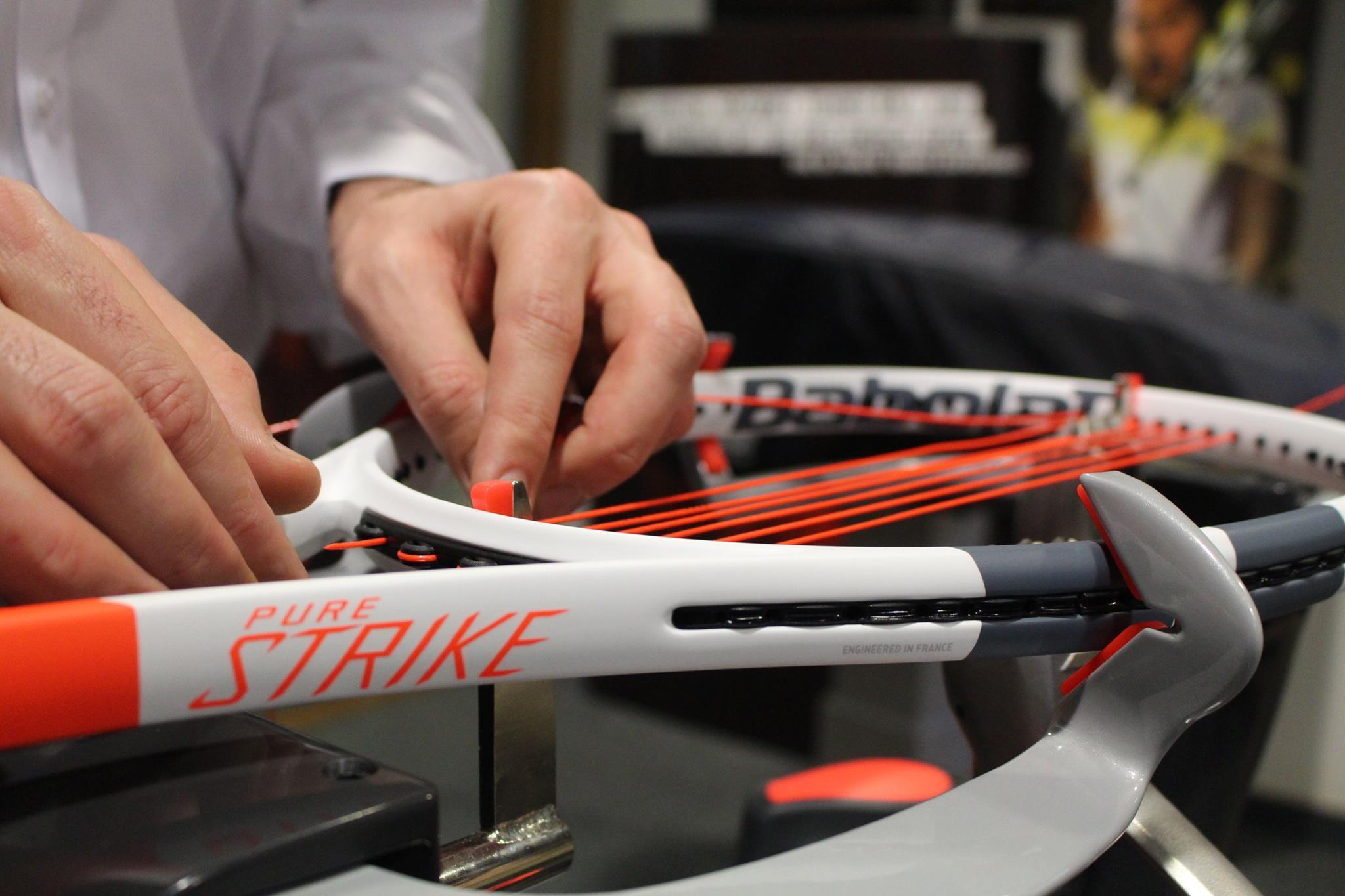 Service Cordage Tennishop Pro - Pose Gratuite - Suivre les instructions