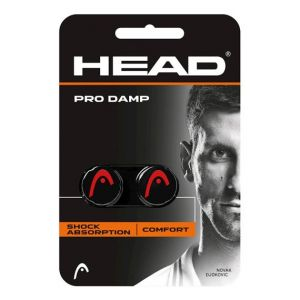 Antivibrateur Head Damp Pro Rouge/Noir