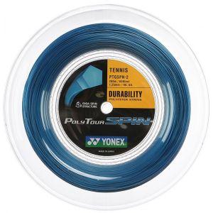 Cordage Yonex Poly Tour Spin 1.25 - 200m Bleu ou Noir