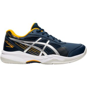 Chaussures Junior Asics Game 8 - Marine/Orange - Toutes Surfaces