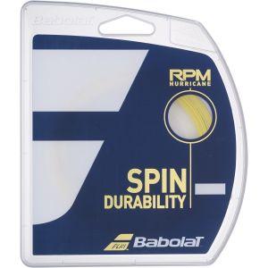 Cordage Babolat 2020 RPM Hurricane (ex-Pro Hurricane Tour) -1 raquette Contrôle - Puissance -Durabilité - Effets