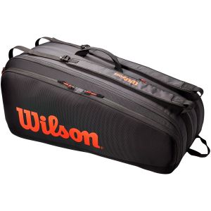 Sac 9 Raquettes Wilson Tour Noir/Orange
