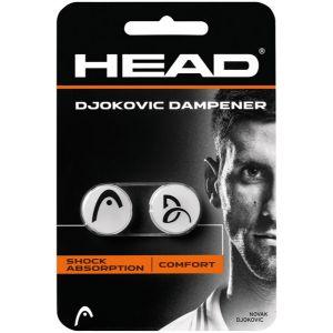 Antivibrateur Head Djokovic Blanc