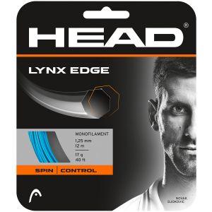 Cordage Head Lynx Edge (Prise d'effets et Précision) 1,25 - Bleu 12m 1 raquette