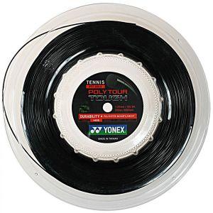 Cordage Yonex PolyTour Tough 1.25 Noir 200m - (Prise d'Effets - Puissance - Contrôle et Durabilité)