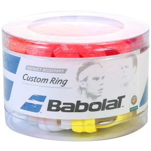 Boîte de 60 Caoutchoucs de Finition Babolat Custom Ring pour Grip ou Surgrips