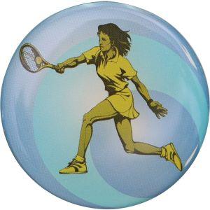 Pastille Tennis Plastique à Incorporer dans les Médailles