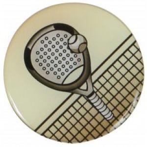 Pastille Padel Aluminium à Incorporer dans les Médailles