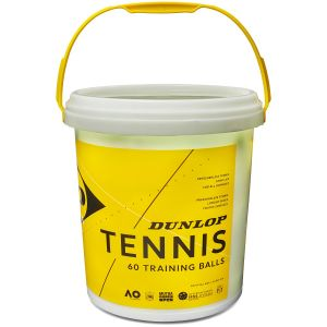 Balles Dunlop Training Baril de 60 Balles d'entrainement Longue Durée