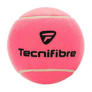 Balle Medium Tecnifibre - Diamètre: 14 cm - Une Aiguille de Gonflage est fournie.