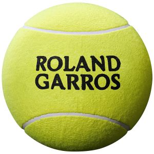 Balle Médium Wilson Roland Garros  - Diamètre: 13cm