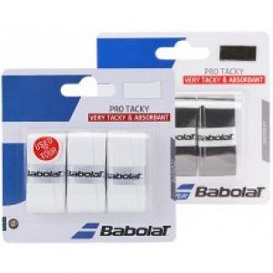 Surgrip Babolat Pro Tacky Noir ou Blanc - Absorbant / Confort / Accroche efficace