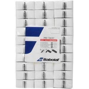 Surgrips Babolat Pro Tacky Blanc x60 - Très bonne Tenue dans la main et Absorption