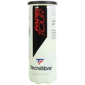 Balles Tecnifibre Officielles Competitions World Padel Tour Tube x3