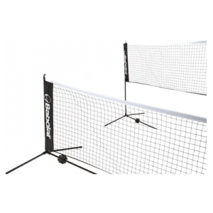 Filet mini-tennis Babolat 6 m - Léger 2 Positions en Hauteur - Montage ou Démontage en 5 minutes - Housse de Transport