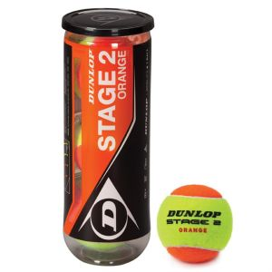 Balles Dunlop Orange Programme Kids Swiss Tennis Tube X 3