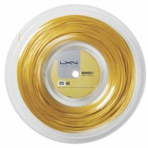 Luxilon 4 G Rough 1.25 Bobine de 200 m Gold