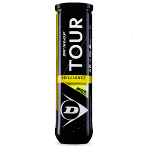 Balles Dunlop x4 Tour Brilliance