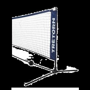 Filet mini-tennis Tretorn 3,6 m montage et démontage rapide