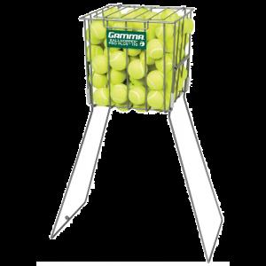 Panier d'entraineur Gamma Pro Plus - 110 balles - 2 Positions