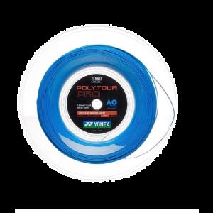 Cordage Yonex Poly Pro Tour 200m Bleu