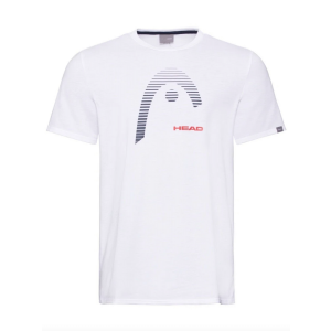 T-Shirt Homme Head Club Blanc