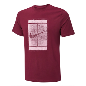 T-Shirt Homme Nike Graphic Court RG Rouge