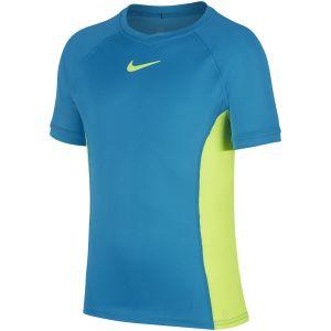 T-Shirt Nike Garçon Dry - Bleu