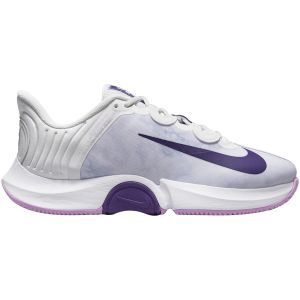 Chaussures Dame Nike Air Zoom GP Turbo Blanc/Violet - Toutes surfaces