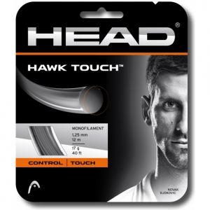 Cordage Head Hawk Touch (Contrôle et Confort) 1,20 ou 1,25 - Gris 12m - 1 raquette