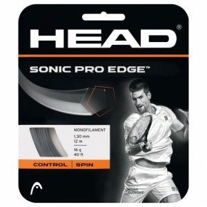 Cordage Head Sonic Pro Edge (Prise d'effets) 1,25 ou 1,30 - Anthracite 12m - 1 raquette