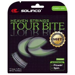 Cordage Solinco Tour Bite Soft 12,2 m - Confort - Vitesse - Effets