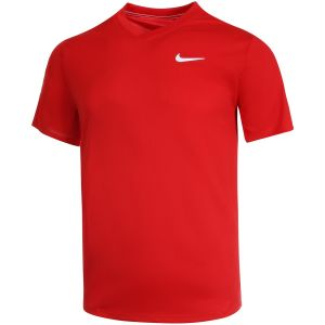 Polo Homme Nike Dry Victory - Rouge